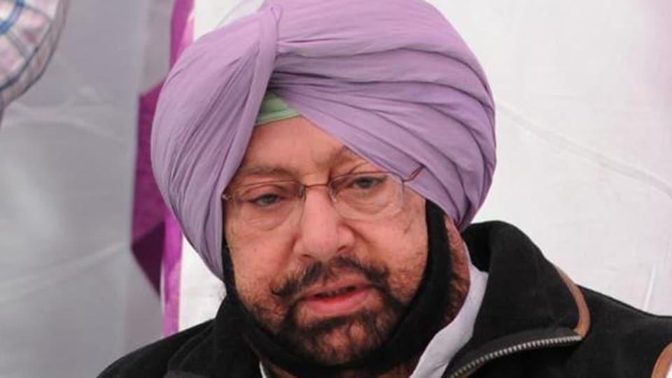 Punjab Congress president Captain Amarinder Singh