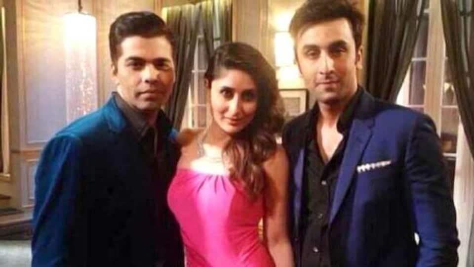 When Kareena Kapoor appeared on Karan Johar's talk show with cousin Ranbir Kapoor.