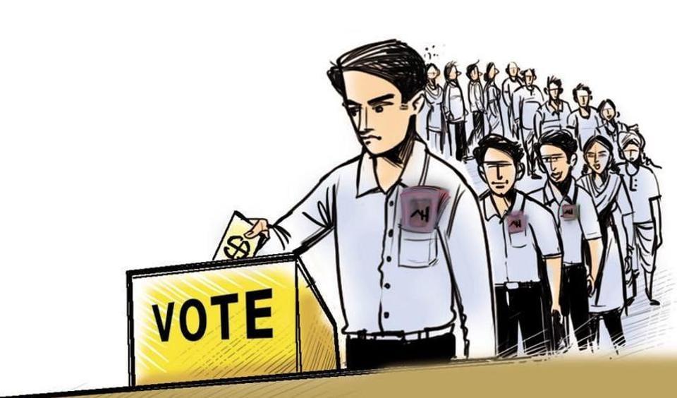 Citizen group,NOTA,Mumbai civic polls