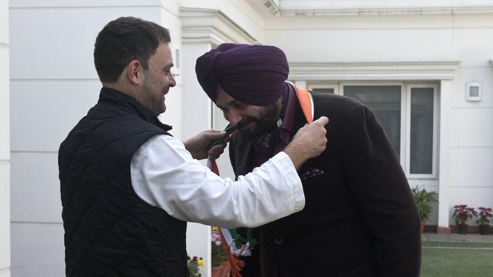Navjot Singh Sidhu,Congress,Punjab