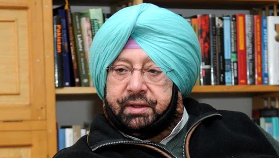 Punjab Congress chief CaptainAmarinder Singh.