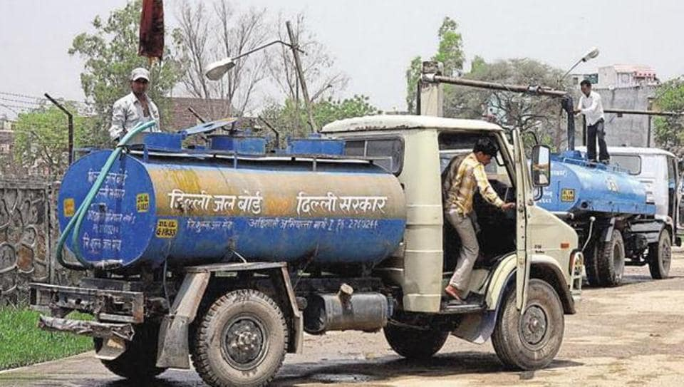 A DJB official said it had made arrangements for water tankers. In case of acute shortage, residents of these areas could contact the DJB office of their area for water tankers.