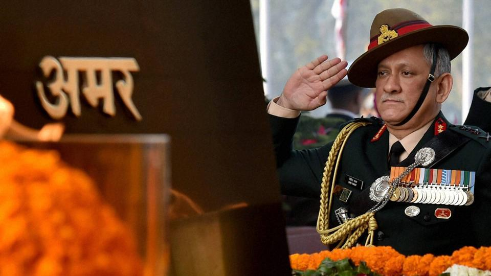 Bipin Rawat,Indian Army,Army Chief
