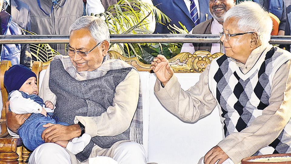 Lalu Prasad,Nitish Kumar,Makar Sankranti