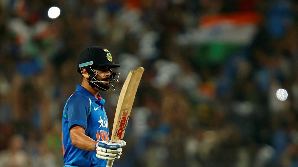 Kohli secured his 27th ODI century as India shifted gears. (REUTERS)