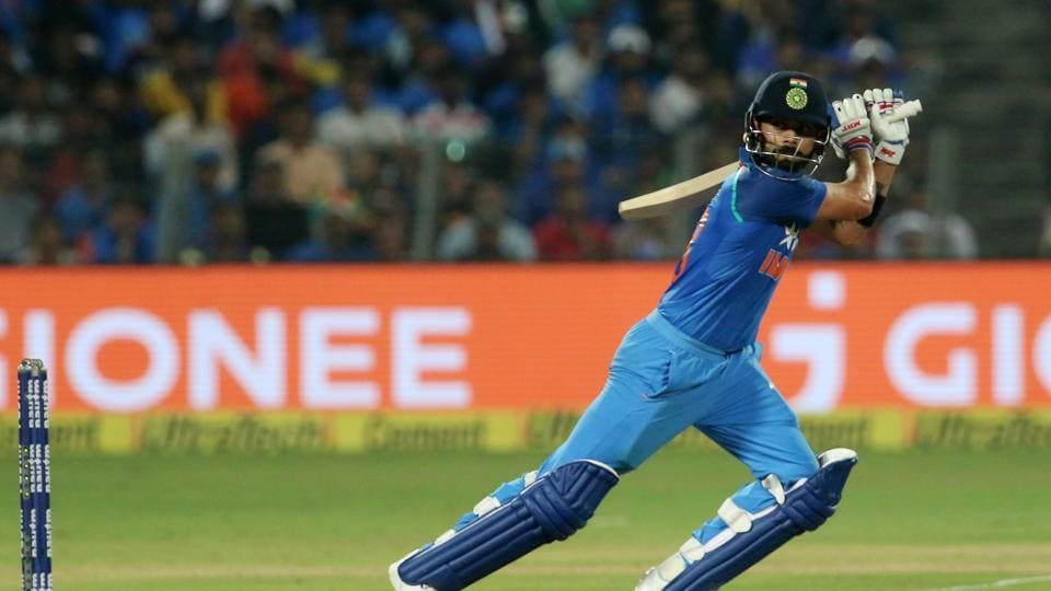 Virat Kohli and Kedar Jadhav both increased the scoring rate and turned the tables on England. (BCCI)