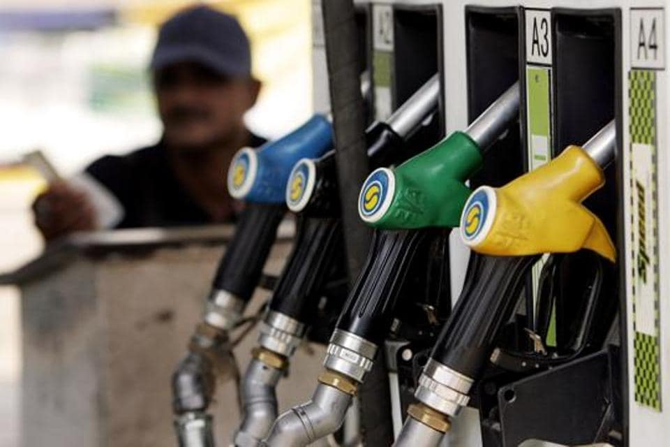 The prices of petrol and diesel were cut by over Rs 2.