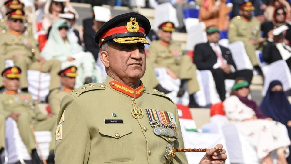 Pakistan's newly appointed army chief Gen Qamar Javed Bajwa.