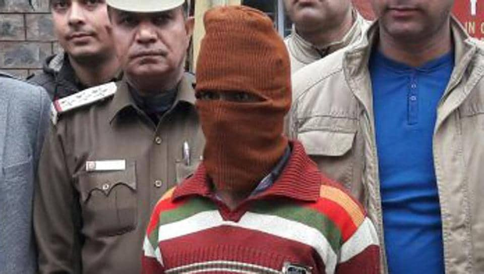 Sunil Rastogi was arrested for allegedly raping two minors and molesting another in New Ashok Nagar.