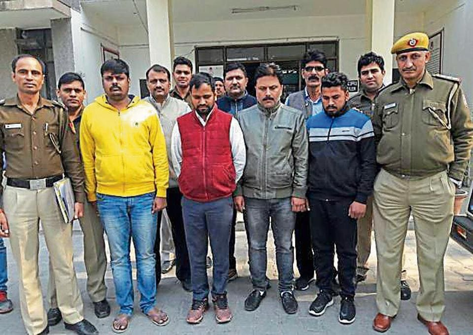 All the five men involved in both the crimes — duping and kidnapping —were arrested. They have been identified as Aman Kumar, Pankaj Trehan and Akash (kidnapping), while Manoj and Khushal (cheating).