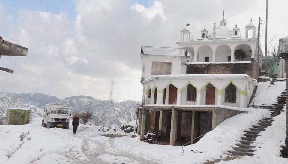 Kashmir Valley,Winter cold,Snowfall