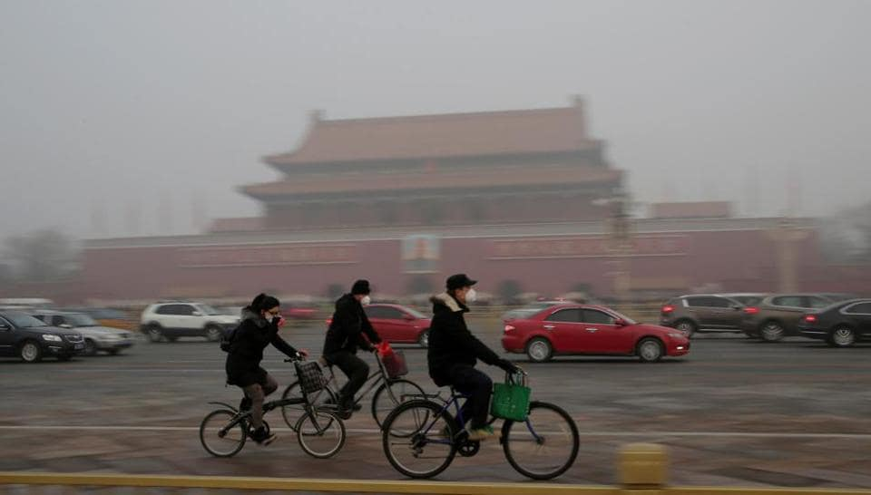 Beijing pollution,China environment police,China fights smog