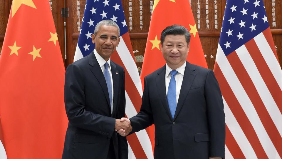US President Barack Obama with Chinese President Xi Jinping  (File Photo)