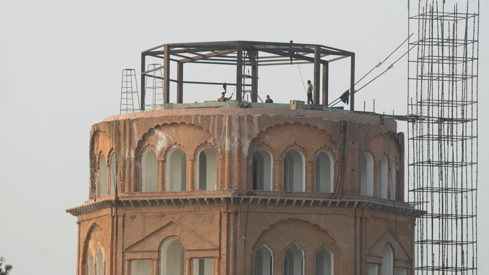 Satkhanda is being transformed into a major tourist attraction in old Lucknow.