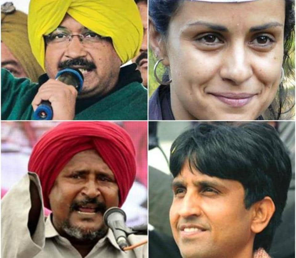 Delhi CM Arvind Kejriwal, Bollywood actress Gul Panag, poet Kumar Vishwas and Dalit activist Bant Singh Jhabbar have figured in the list of 40 star campaigners who will canvass for AAP ahead of Punjab polls.