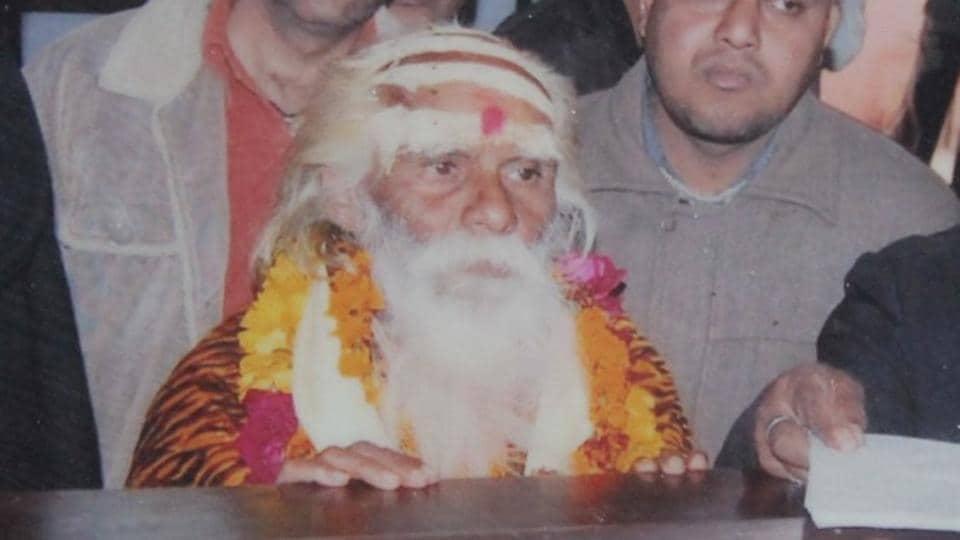 File photo of 'Phakkad Baba' filing his nomination papers, in Uttar Pradesh.