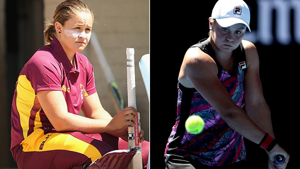 Australian Ashleigh Barty, who left tennis two years back to play top-level cricket, playing for Brisbane Heat in the Women's Big Bash League, is back on court and beat Germany's Annika Beck in the first round of the Australian Open on Monday.