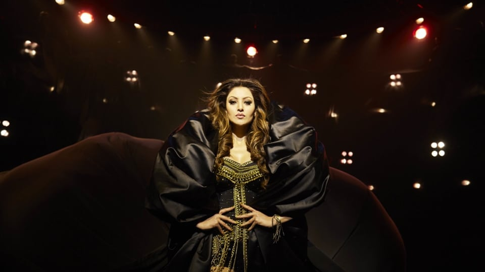 A still from the song Sara Zamana, featuring actor Urvashi Rautela. The song has got more than 8 million views.