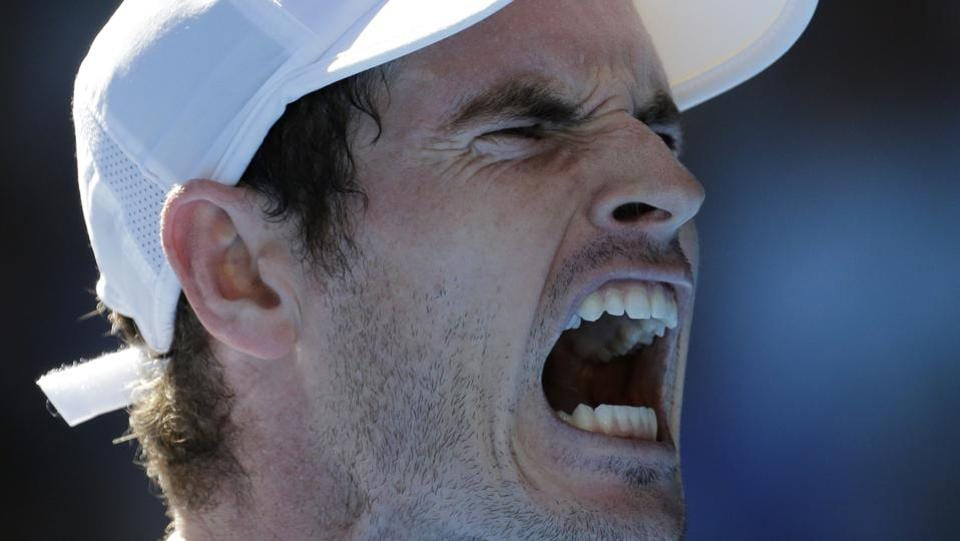 Andy Murray and Kei Nishikori struggled in the heat while Simona Halep crashed out in the fourth round.