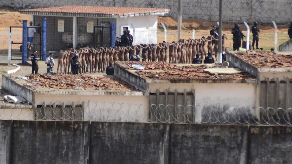 Brazil jail riot,Brazil Prison riot,Brazil