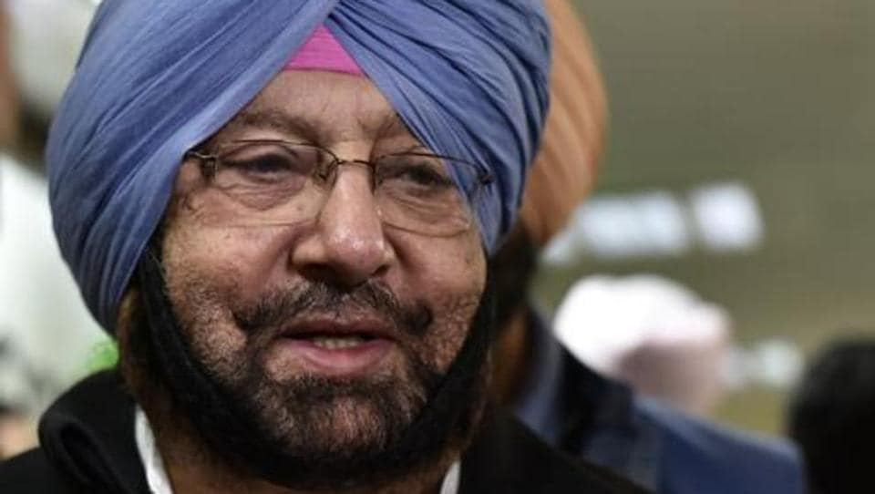 Congress leader Captain Amarinder Singh after the press conference to announce the merging of PPP with Congress at AICC Headquarters on January 15, 2016 in New Delhi, India.