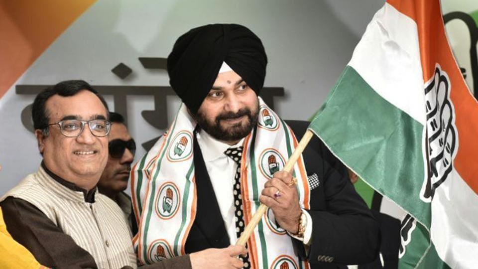 Navjot Singh Sidhu,Congress,BJP