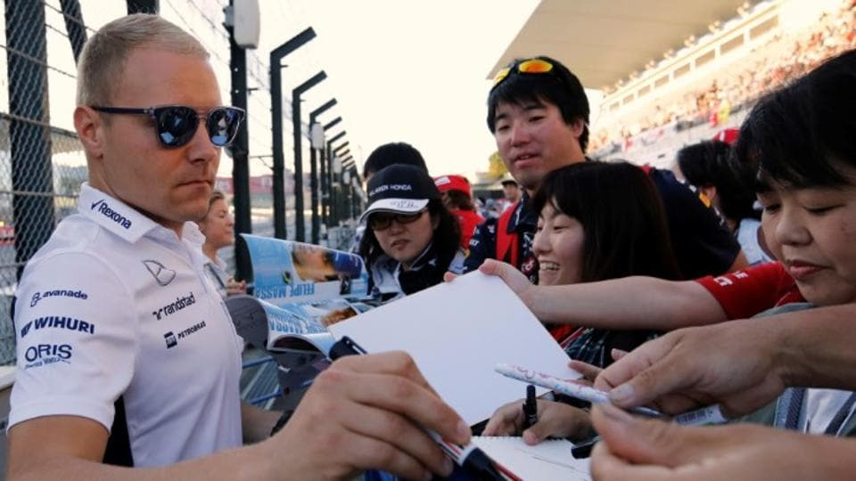 Valtteri Bottas of Finland is on the verge of signing for a drive with Mercedes F1 team in place of Nico Rosberg