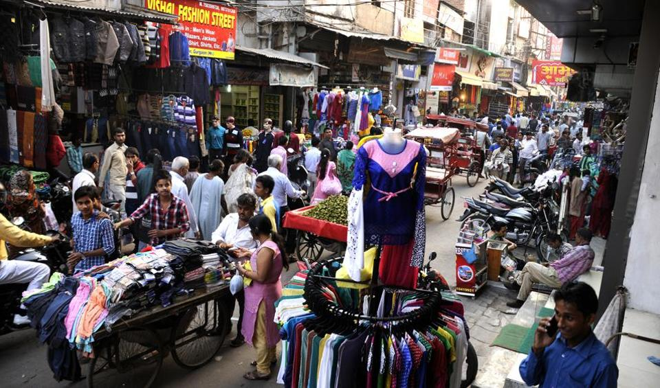 Unchecked encroachment on public spaces in Gurgaon has been the bane for commuters.