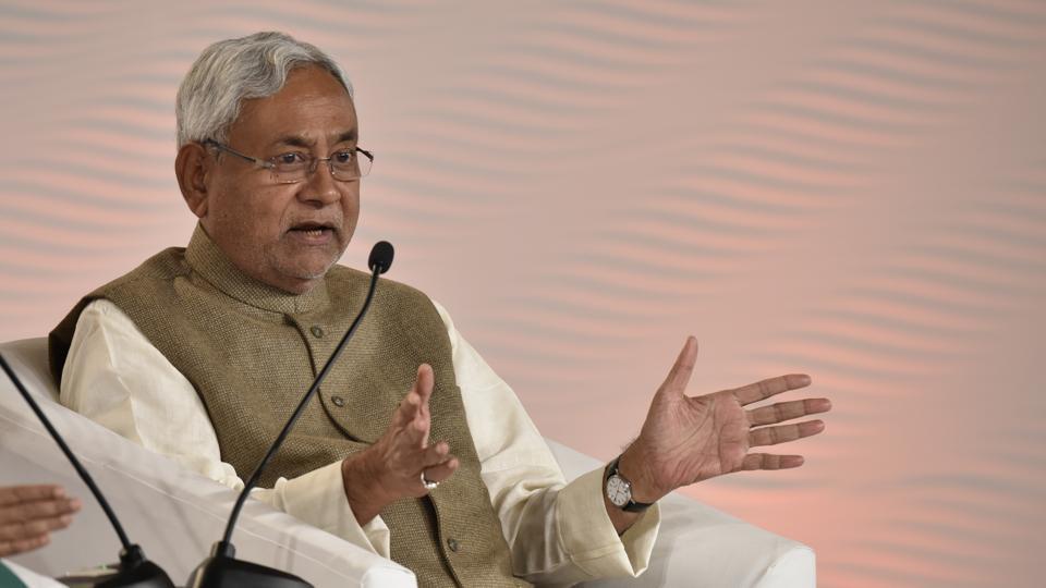 Nitish Kumar,BJP,Human chain