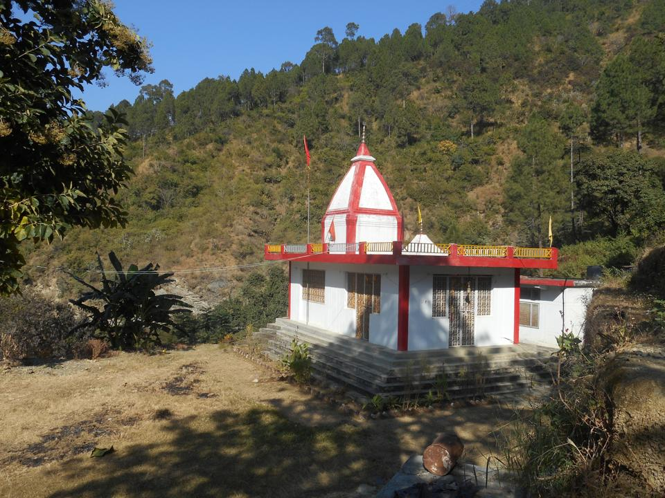 BJP leader BC Khanduri's ancestral house existed at the place where this temple was built. His house at Margadna village in Pauri district was destroyed in the 1995 forest fires that engulfed Uttarakhand .