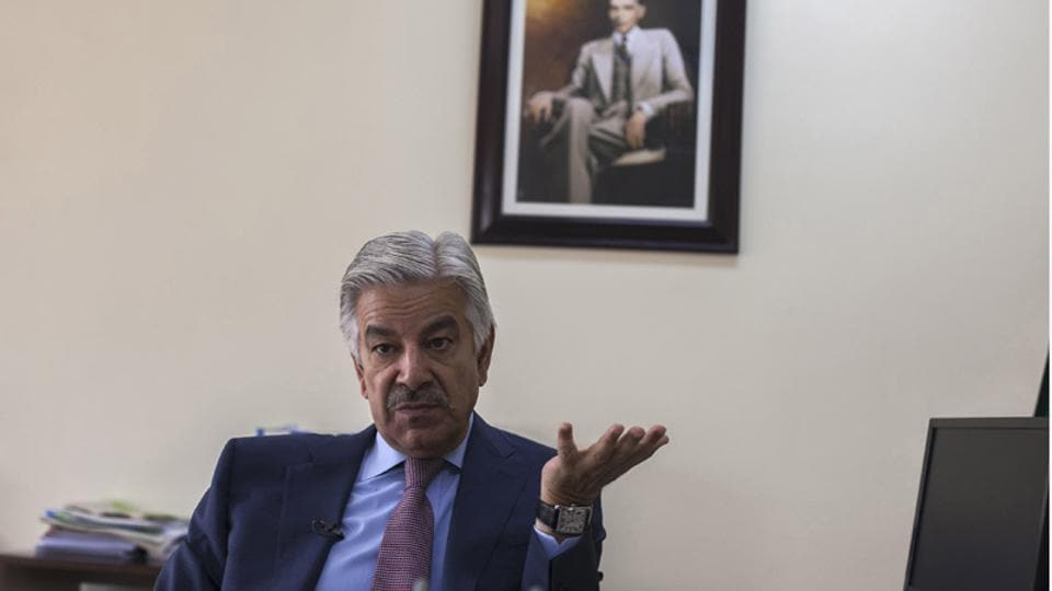 """Pakistan's Defence Minister Khawaja Asif onMonday warned India of a """"befitting response"""" if it dared to carry out surgical strikes inside his country."""