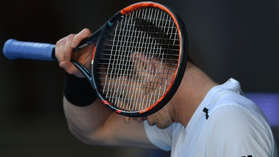 Britain's Andy Murray took two hours and 47 minutes to beat Ukraine's Illya Marchenko 7-5, 7-6 (7/5), 6-2 in his first round match of the Australian Open on Monday.