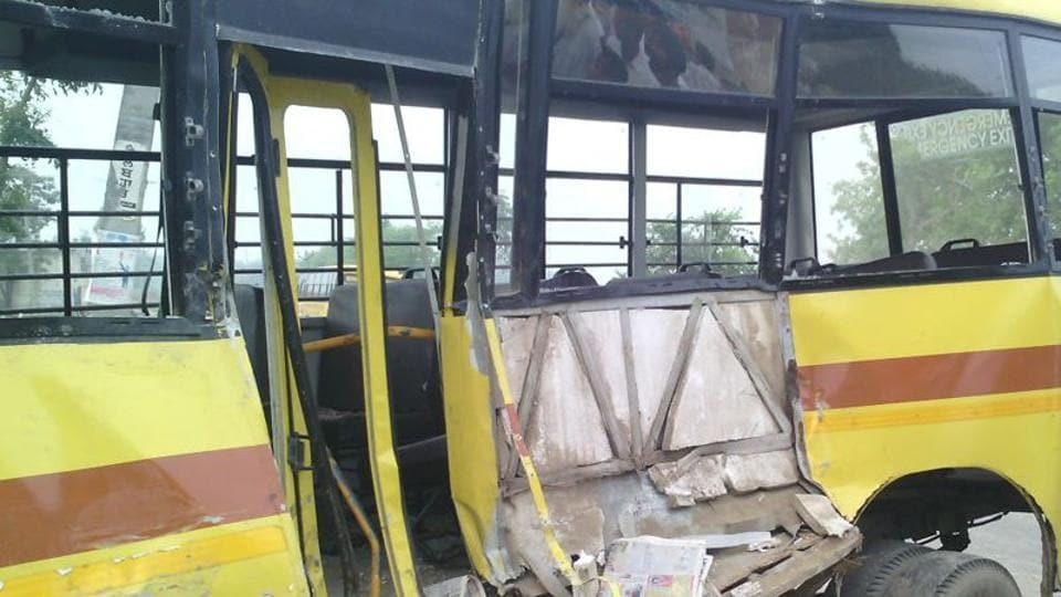 Mathura,Mathura schoolbus accident,Uttar Pradesh