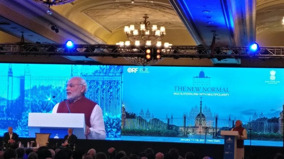 More than 250 participants from 65 countries are taking part in this year's Raisina Dialogue.