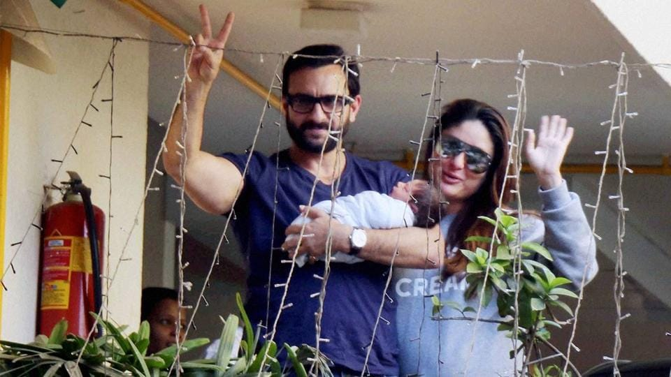 Saif and Kareena became parents of a son in December, last year.