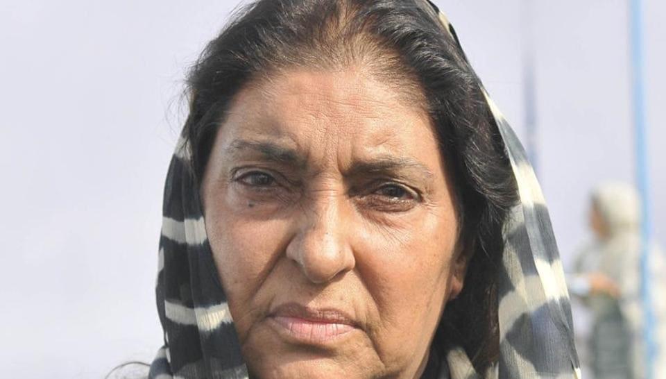 Gurkanwal Kaur, daughter of former Punjab chief minister late Beant Singh.