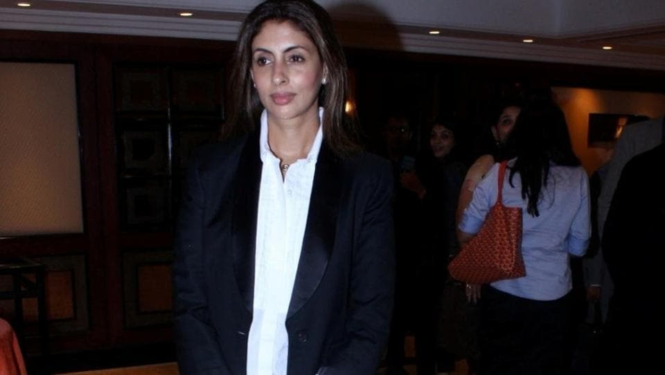 Shweta Bachchan Nanda also attended the boom launch event. (IANS)