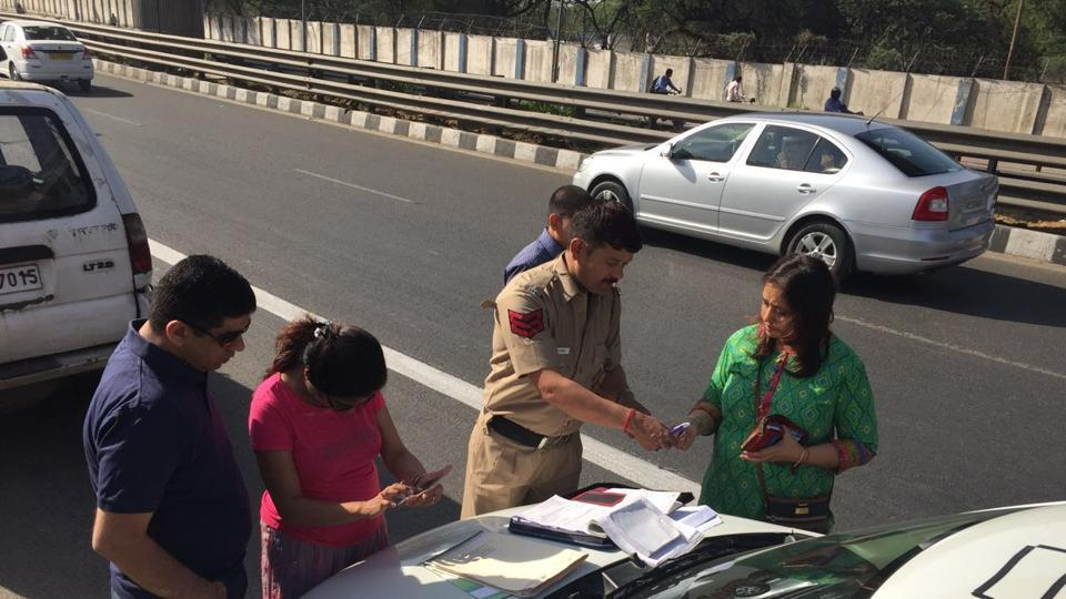 Delhi Police had fined many Gurgaon commuters entering Delhi for violating the odd-even rule  that was in place last April.