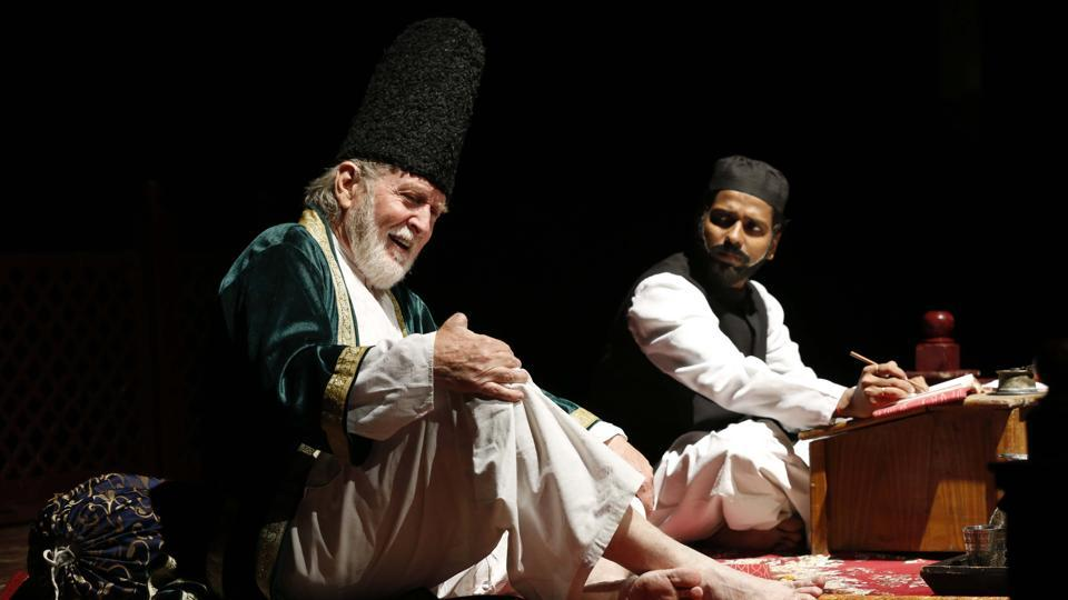 Epicentre signed off with a flourish on Sunday after regaling audiences with a play on Urdu poet Mirza Ghalib.