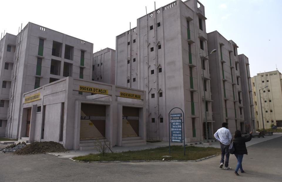 DDA flats at Rohini in outer Delhi. Interested buyers can apply for flats in Rohini, Pitampura, Dwarka, Paschim Vihar, Mukherjee Nagar, Dilshad Garden, and Sarita Vihar.