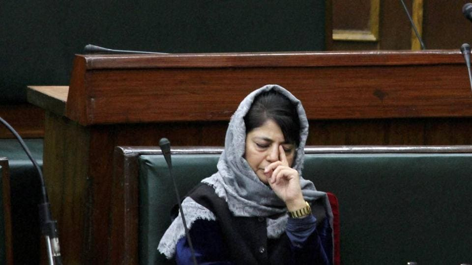 "Chief Minister Mehbooba Mufti on Monday questioned how the return of ""our people"" could bring about a demographic change."