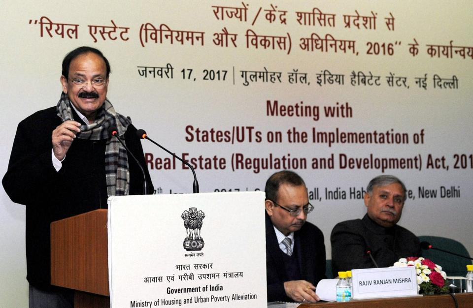 'There is a lot of hope and expectations of people from RERA which should be fully functional from June this year,' says union minister M Venkaiah Naidu.