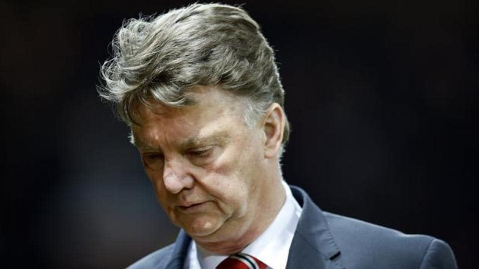 Louis van Gaal  was the manager of Manchester United F.C. from 2014 to 2016.