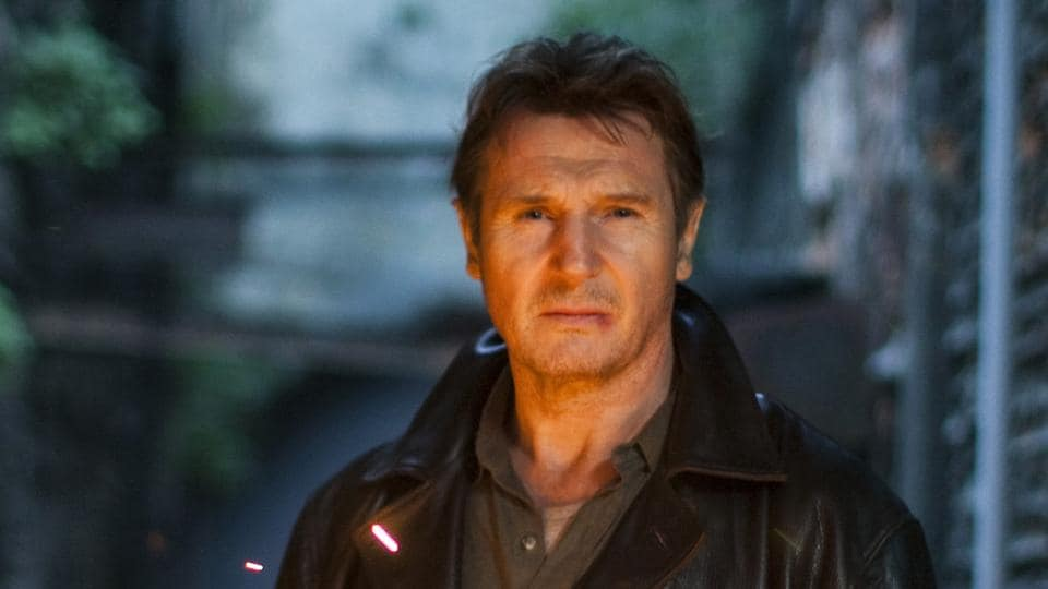 Actor Liam Neeson says he has been lending his voice to projects since 1975.