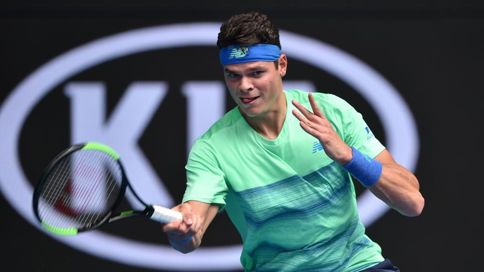 Milos Raonic, Gael Monfils and Johanna Konta registered victories in the first round of the Australian Open, but Samantha Stosur was defeated by Heather Watson.