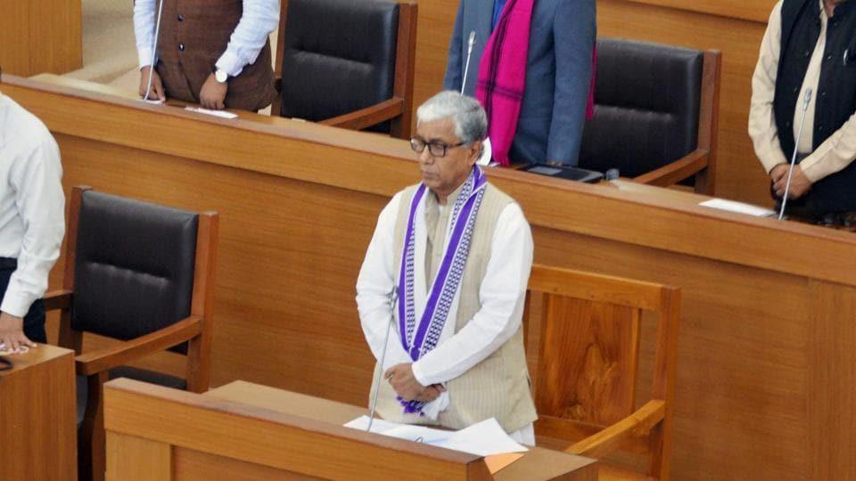 Tripura chief minister Manik Sarkar slammed his West Bengal counterpart Mamata Banerjee for accusations against him.