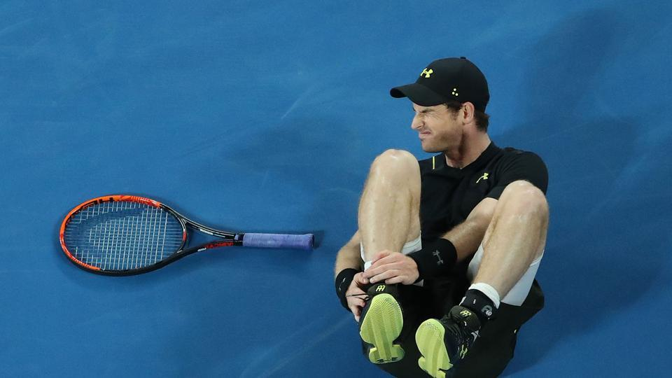 Andy Murray overcame an ankle injury to win by 6-3, 6-0, 6-2 against No. 156-ranked Andrey Rublev (Getty Images)
