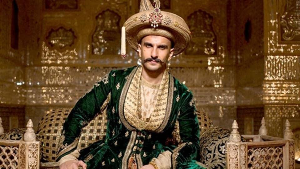 Ranveer Singh played the lead role opposite Deepika Padukone in Sanjay Leela Bhansali's Bajirao Mastani.