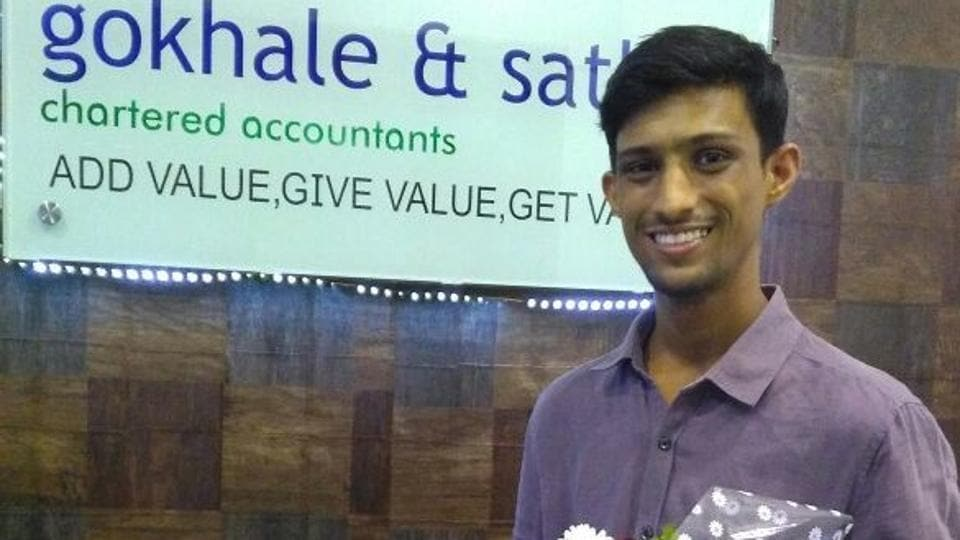 """""""I've always loved numbers and though attempting CA and BCom together was a tough challenge, I made sure I didn't skip or waste a single year,"""" said Piyush."""