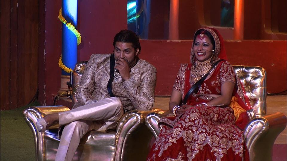 Monalisa and Vikrant Singh Rajput get married inside Bigg Boss 10 house.